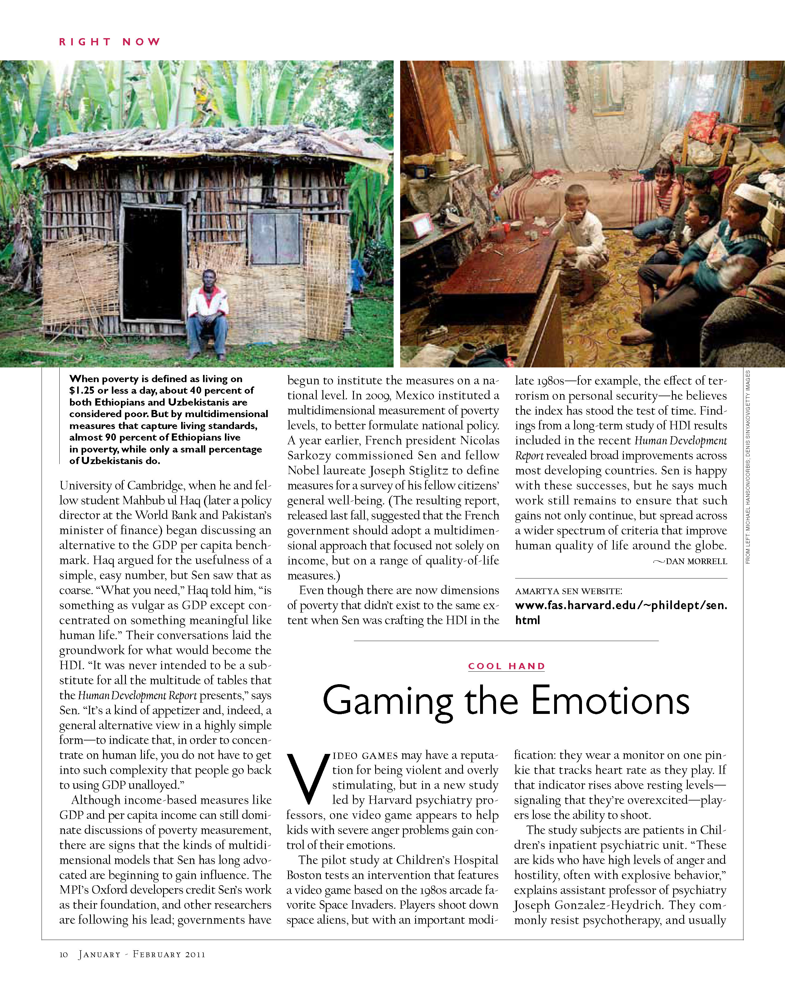 Gaming the Emotions