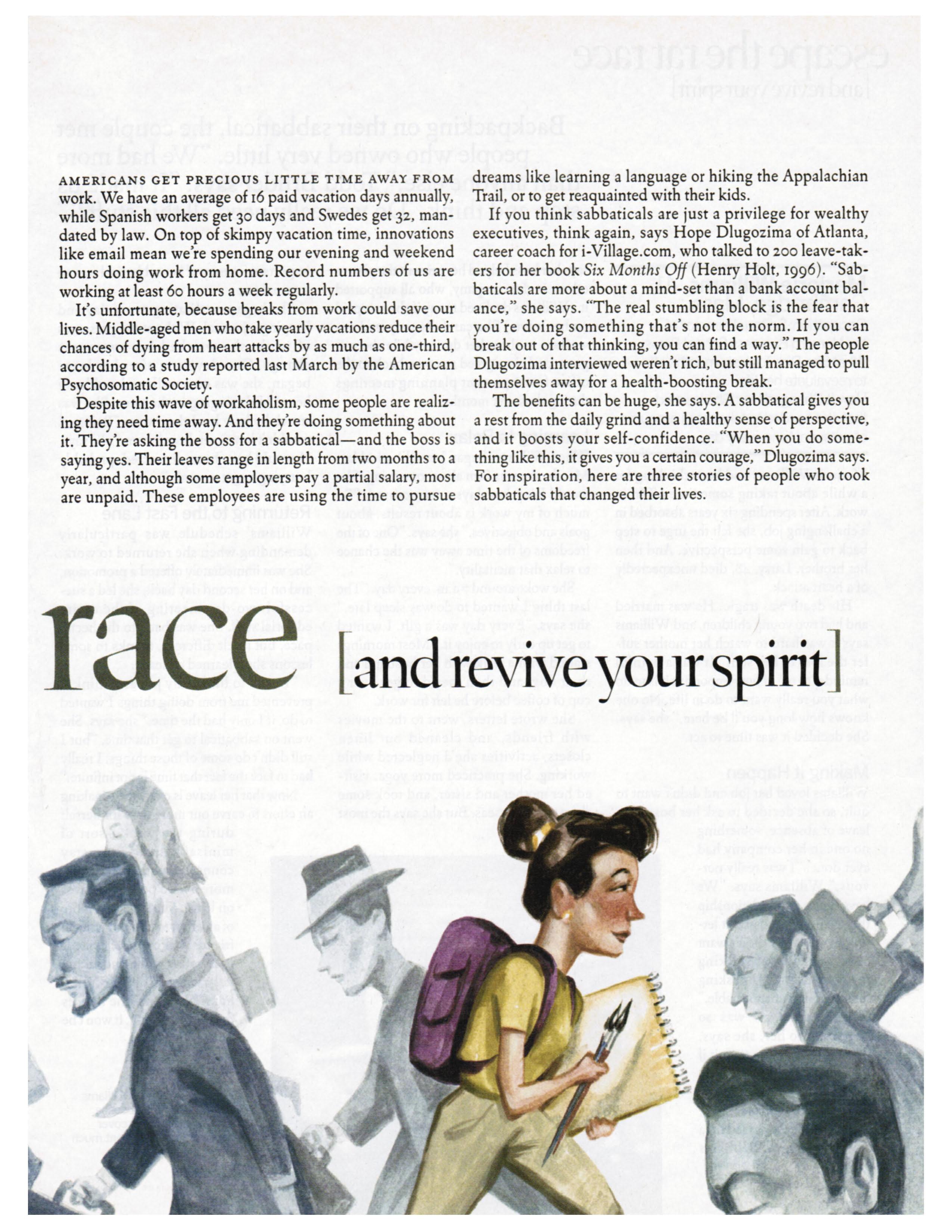 Escape the Rat Race and Revive Your Spirit