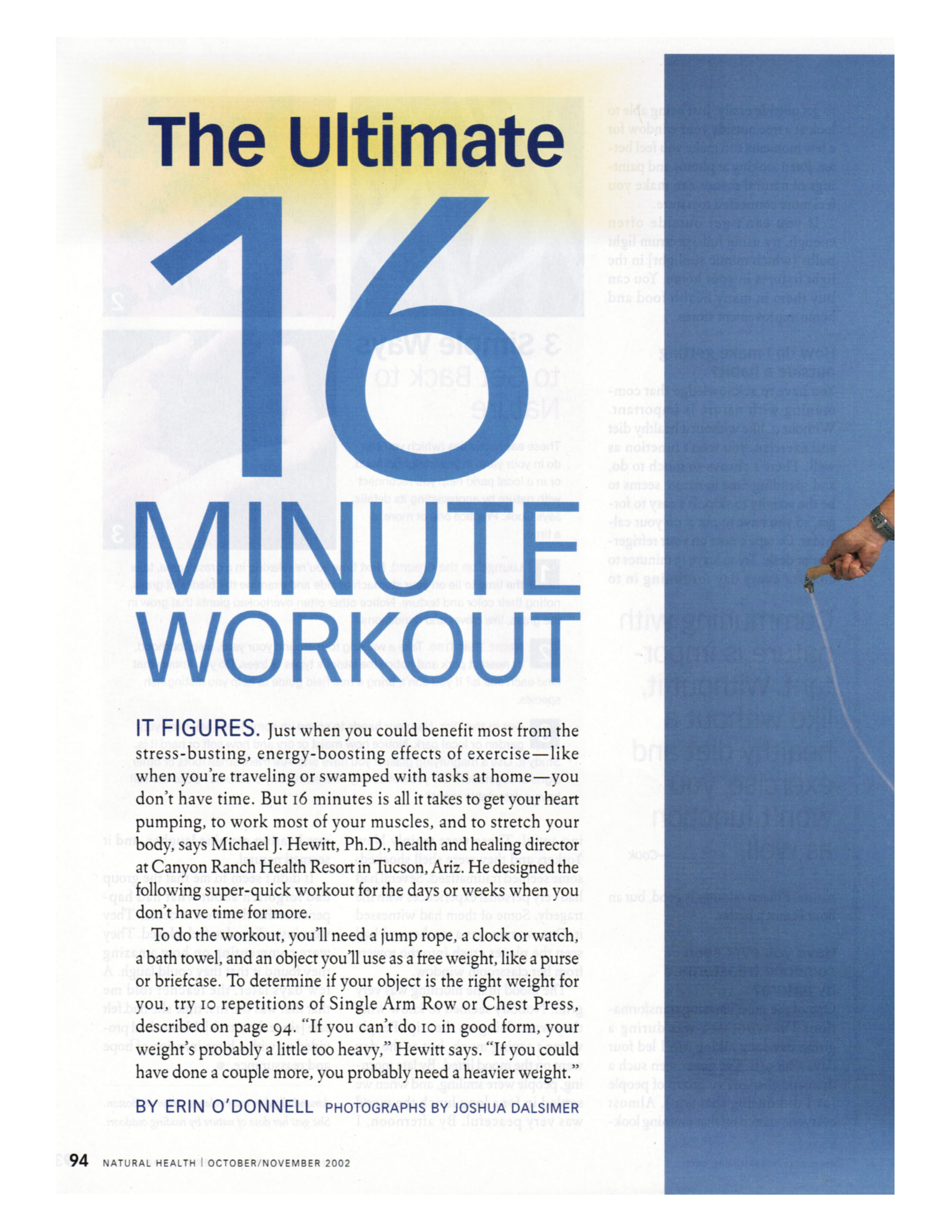 The Ultimate 16 Minute Workout