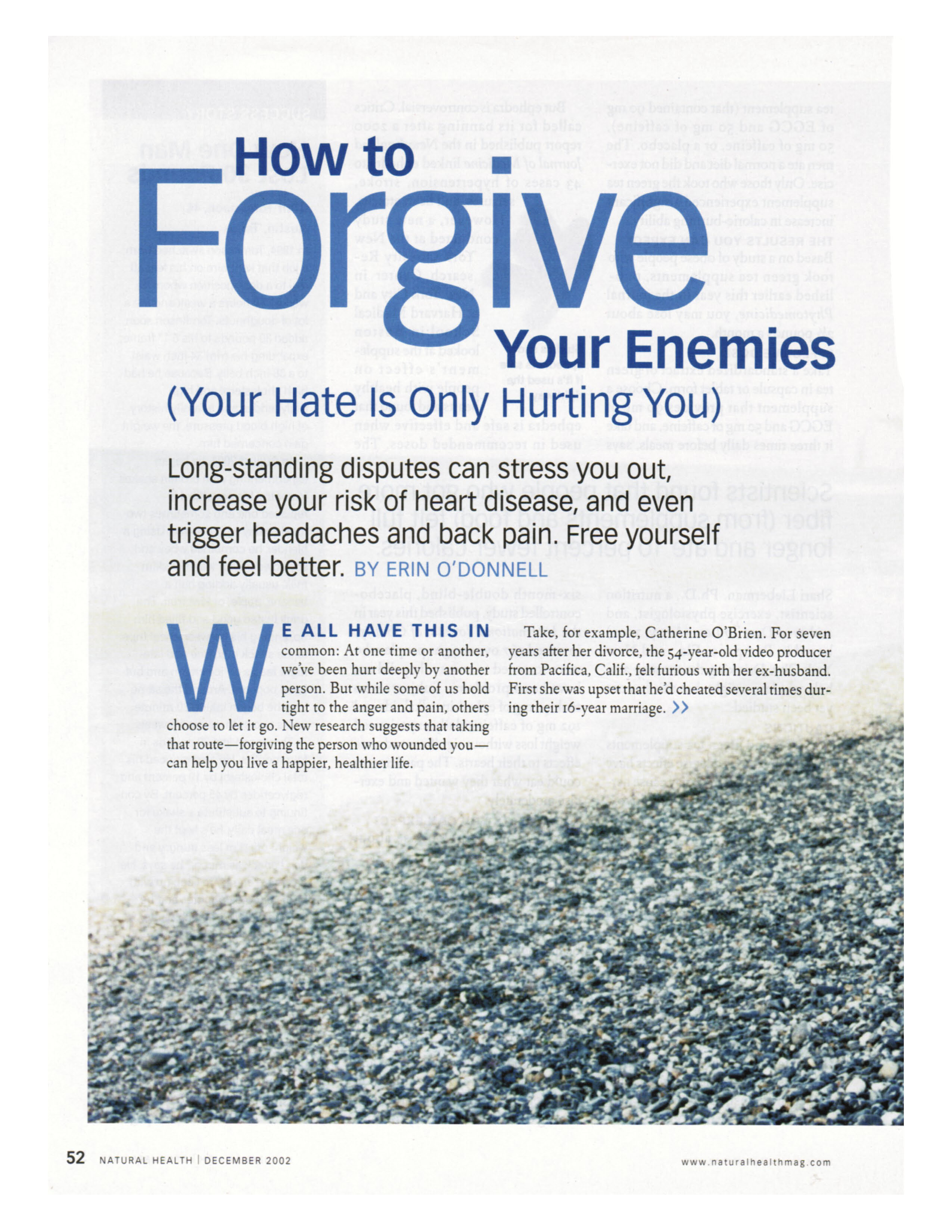 How to Forgive Your Enemies