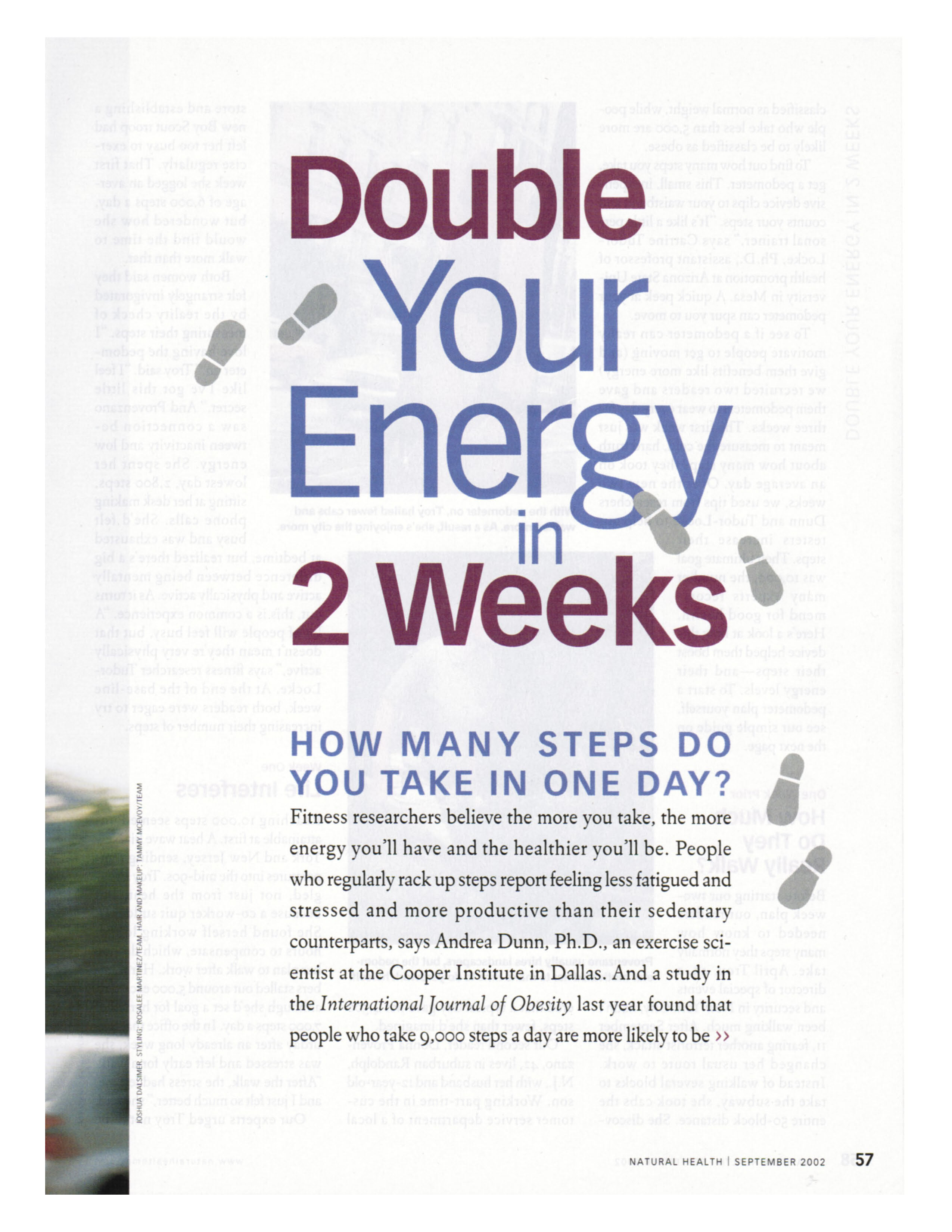 Double Your Energy in Two Weeks