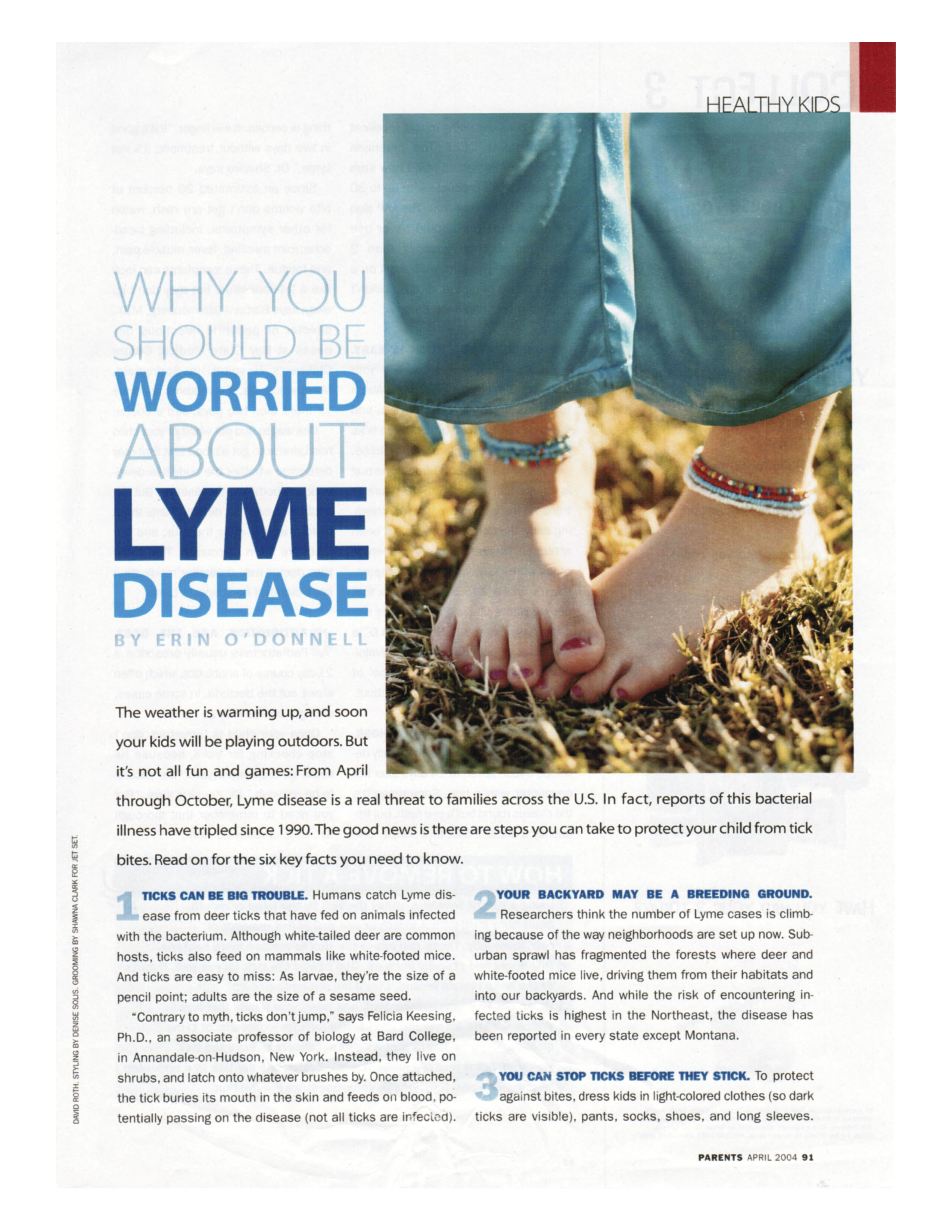 Why You Should Be Worried About Lyme Disease