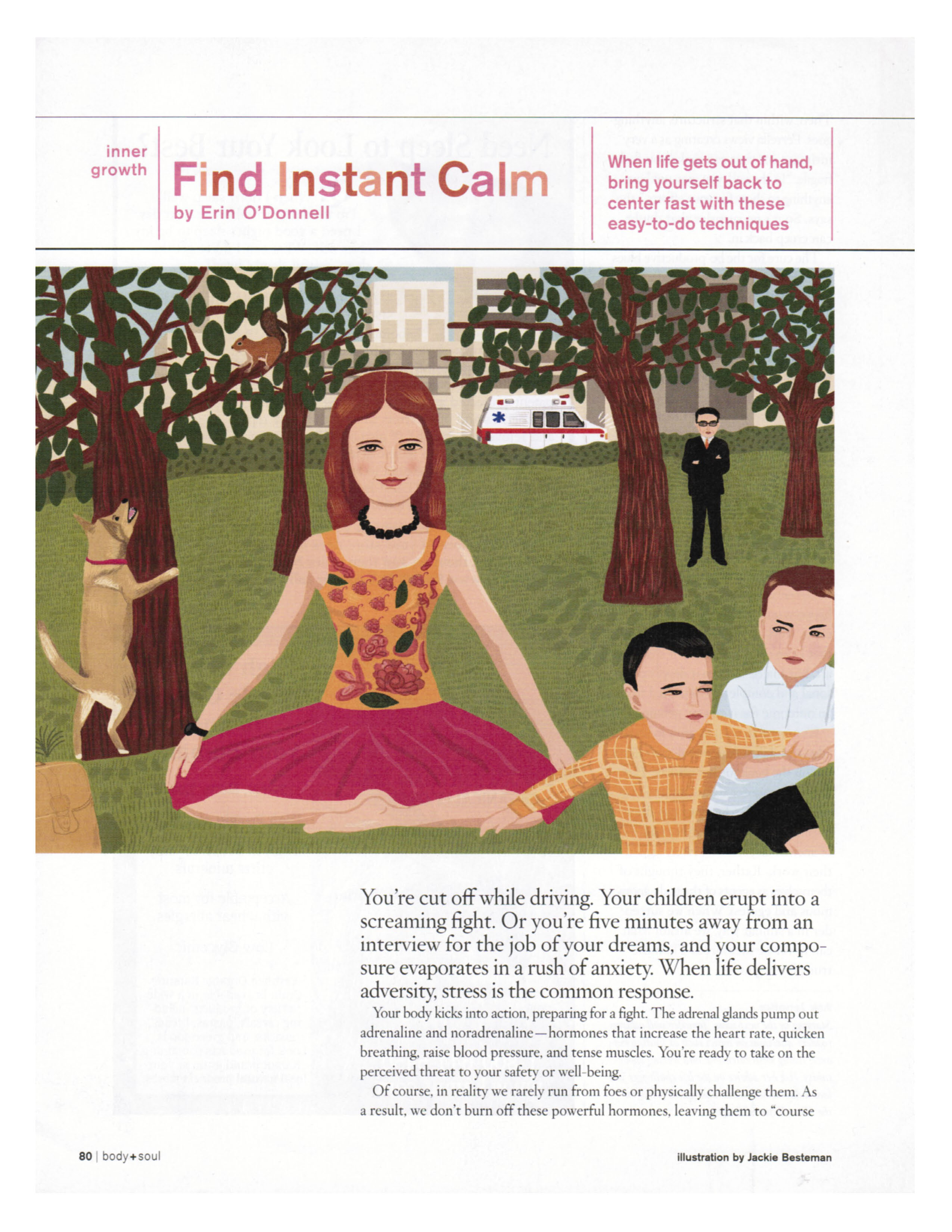 Find Instant Calm