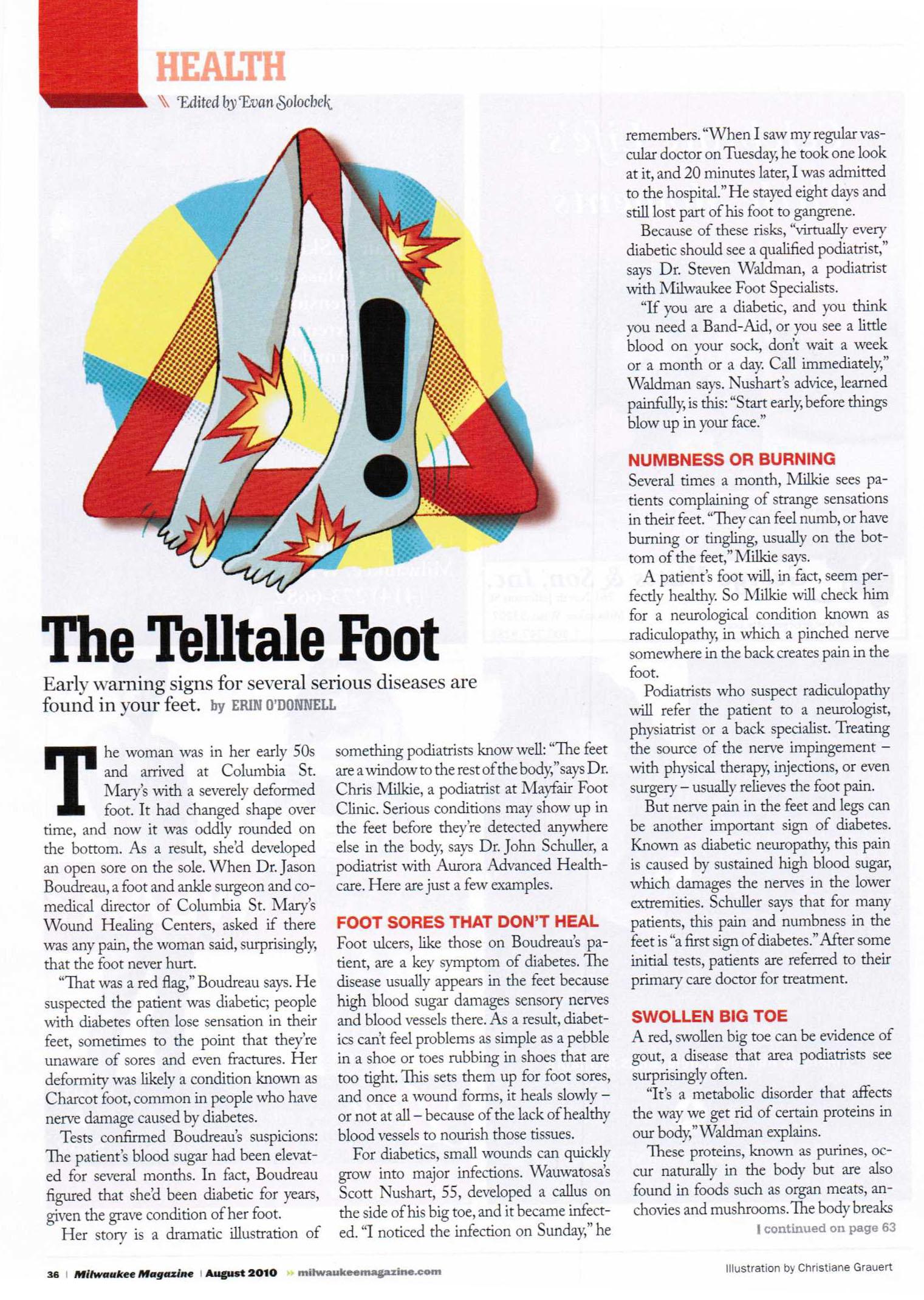 The Telltale Foot