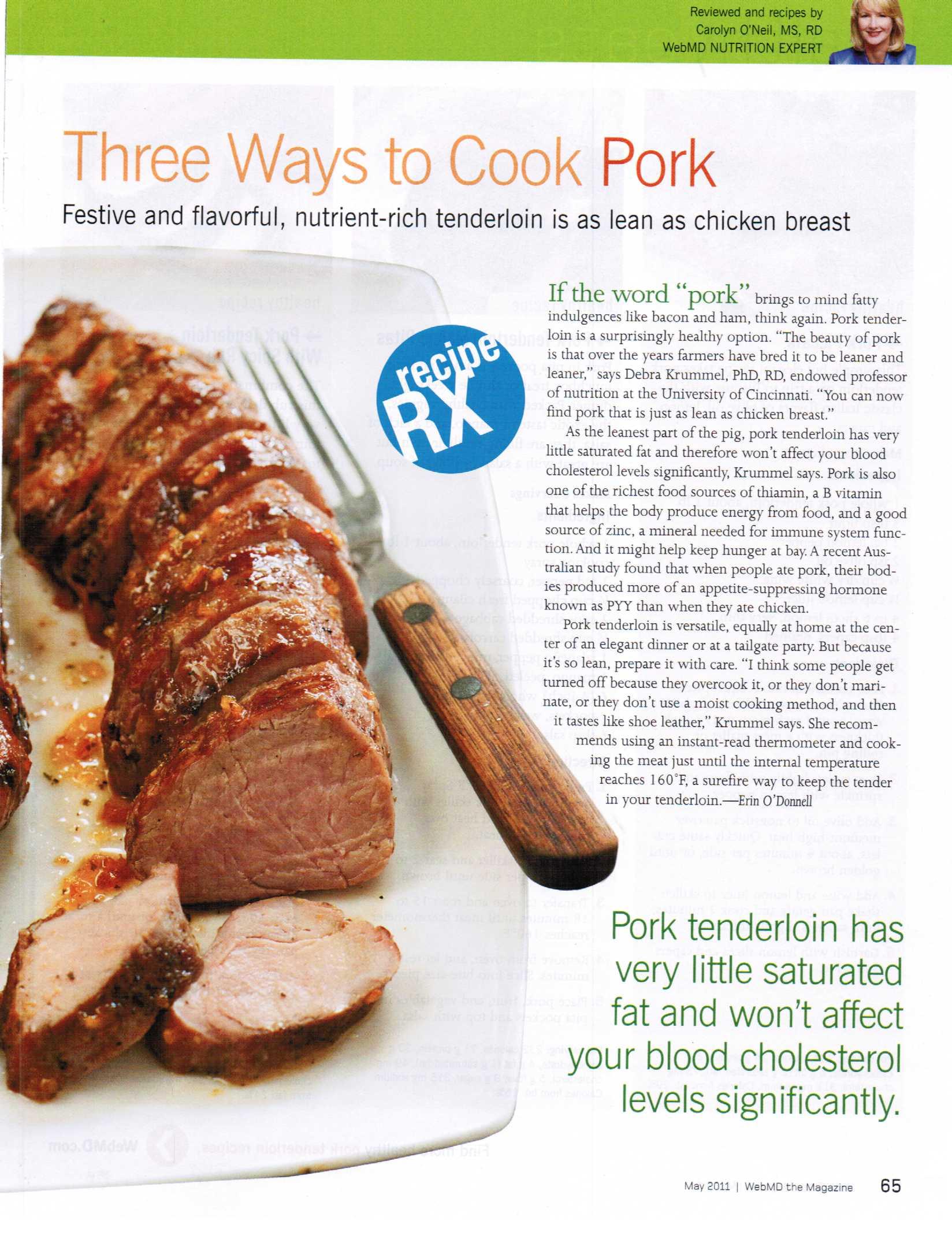 Three Ways to Cook Pork