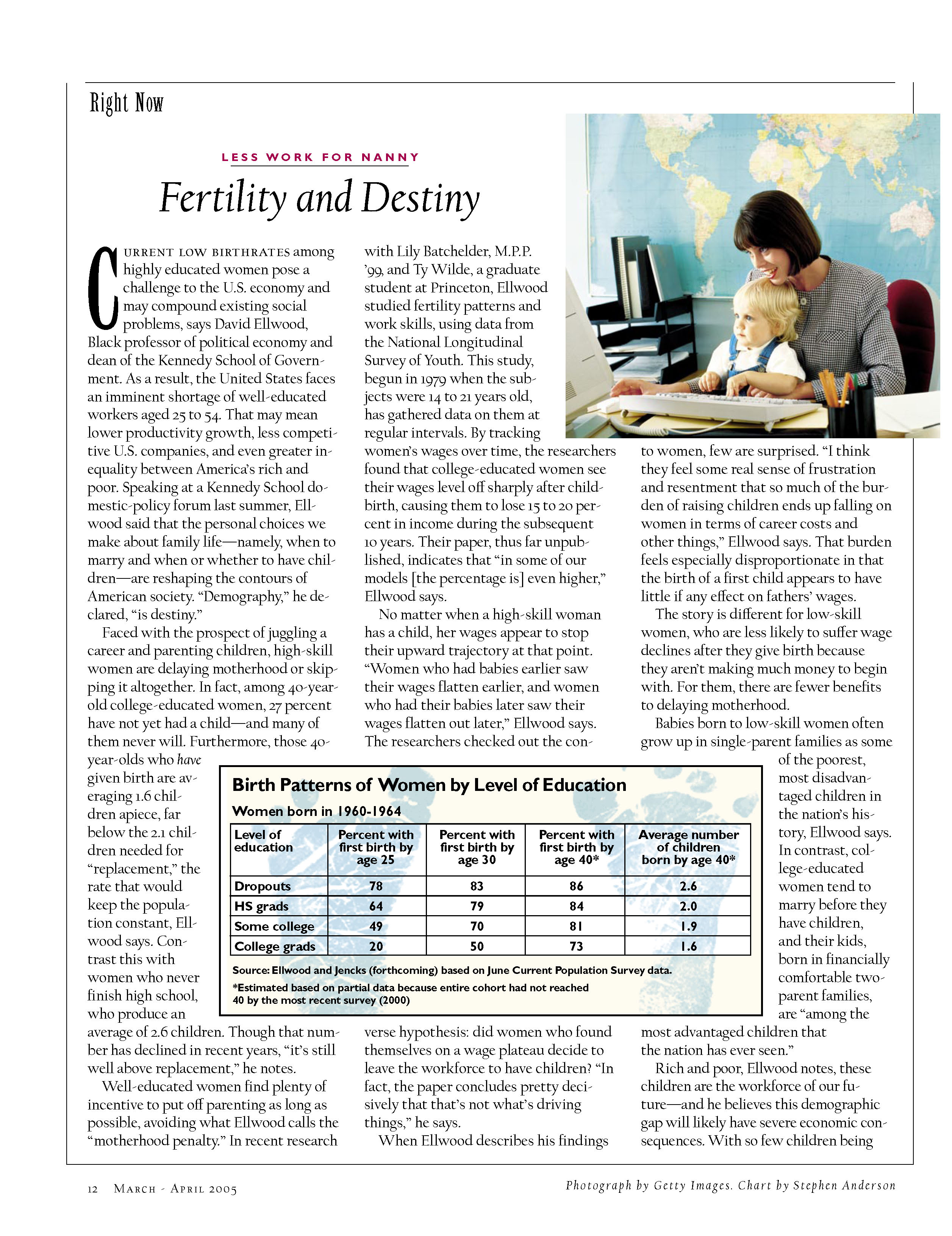Fertility and Destiny