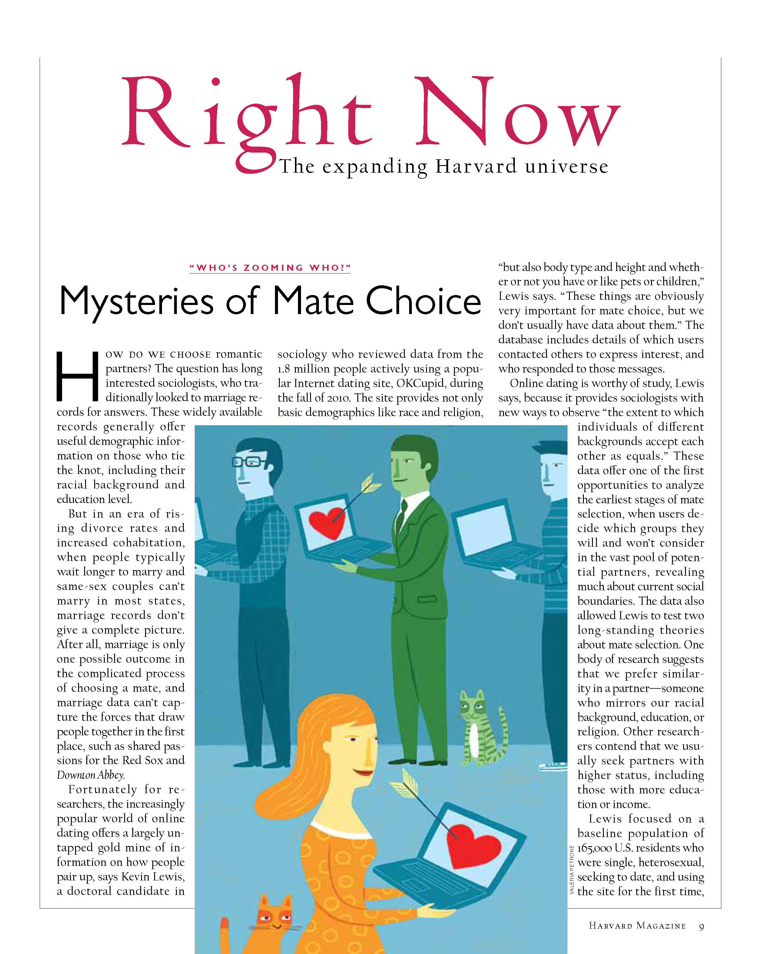 Mysteries of Mate Choice