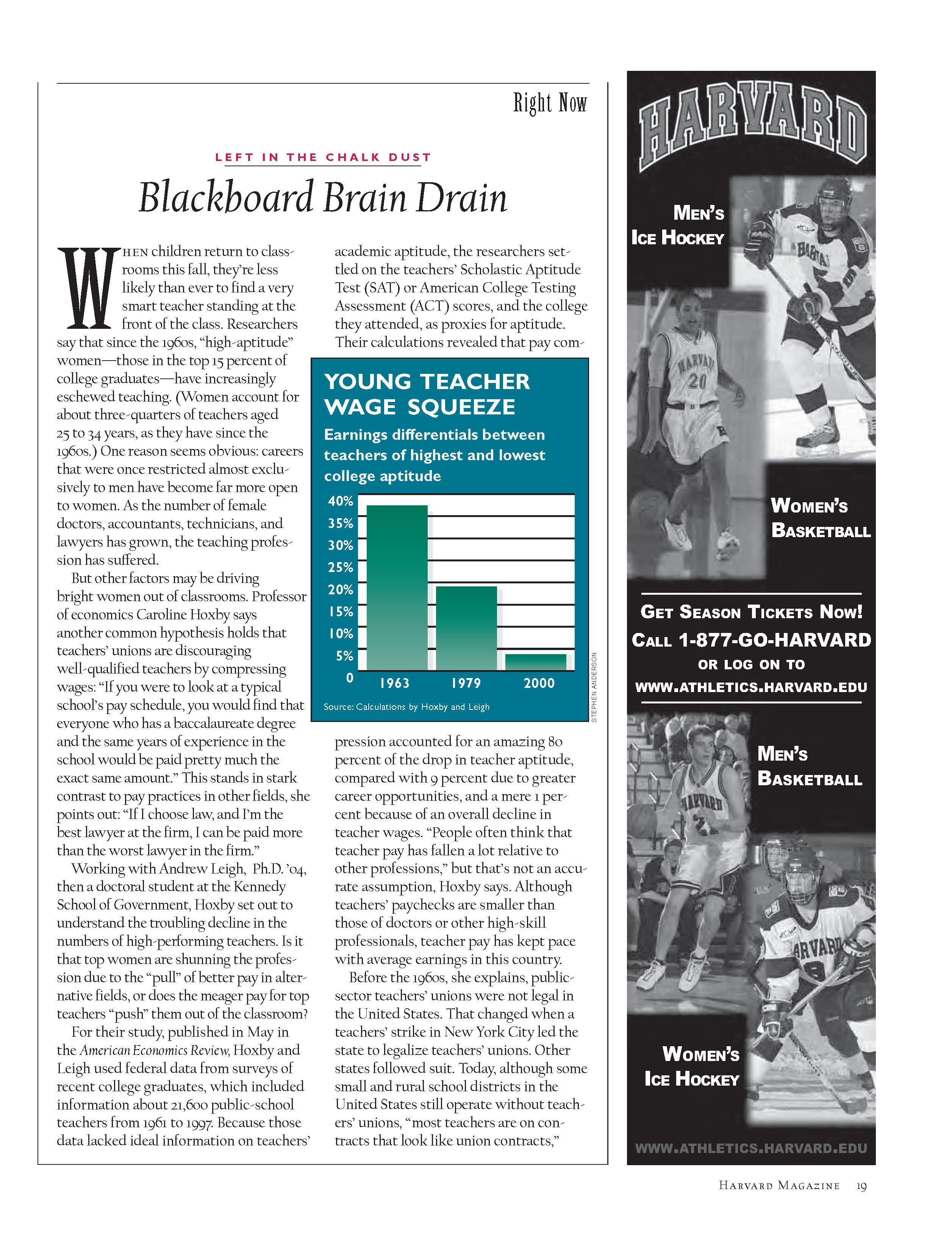 Blackboard Brain Drain