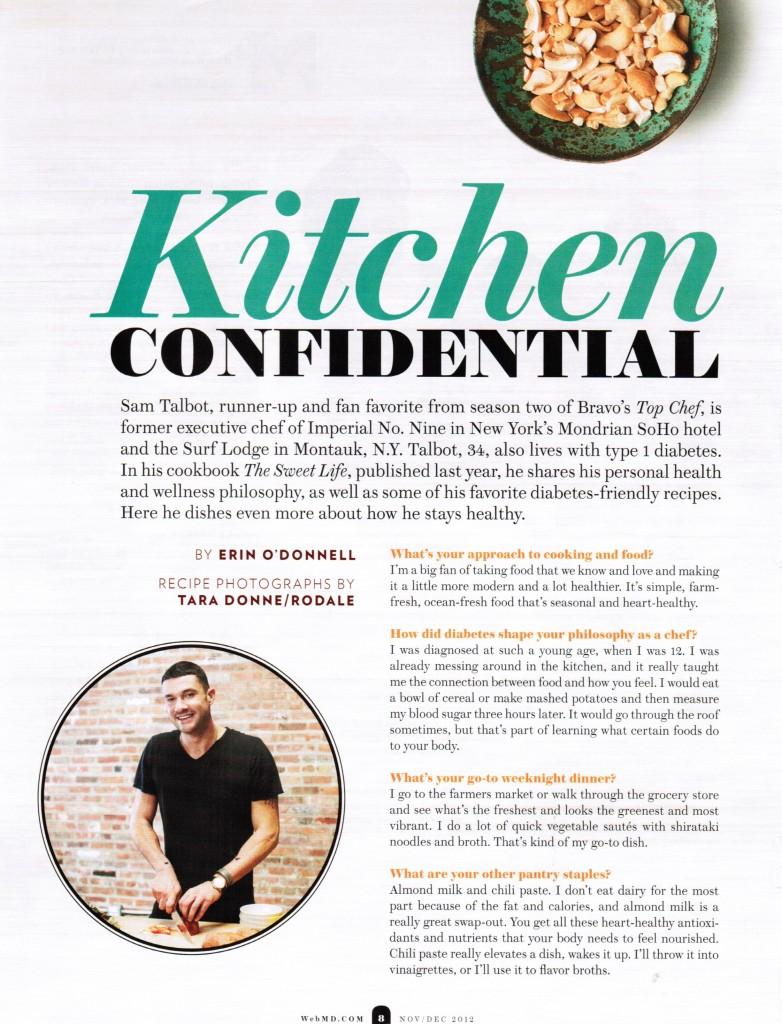 Kitchen Confidential: Sam Talbot