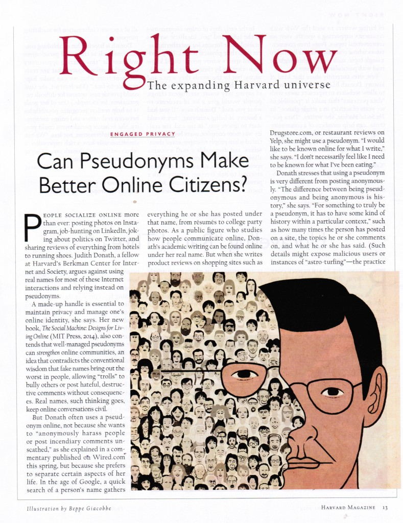 Can Pseudonyms Make Better Online Citizens?